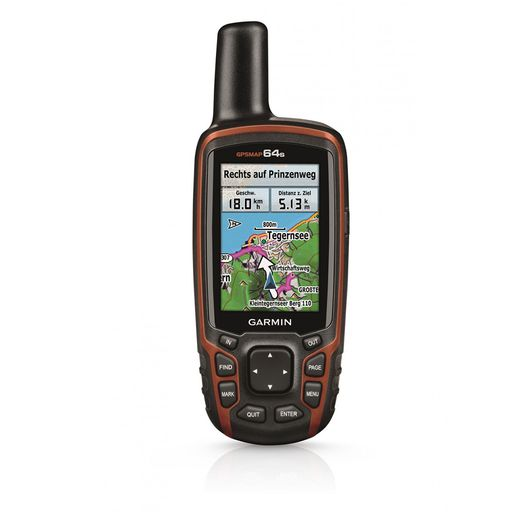 GPSMAP64s navigation device bundle incl. Topo Germany V8 Pro