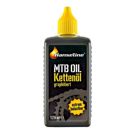 MTB chain oil with added graphite