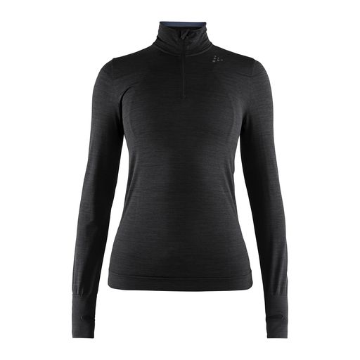 FUSEKNIT COMFORT ZIP W women's long sleeve base layer